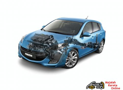 Mazda 3 Structural View