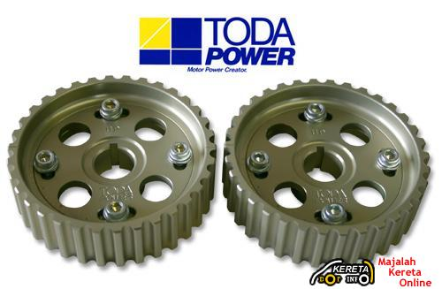 TODA Adjustable Cam Pulley