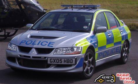 UK EVO 8 PATROL CAR