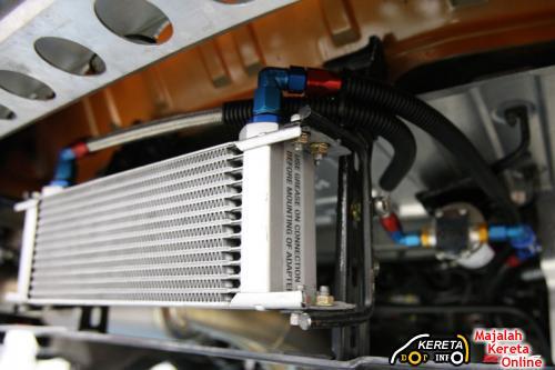 ZELE R35 GTR Oil Cooler