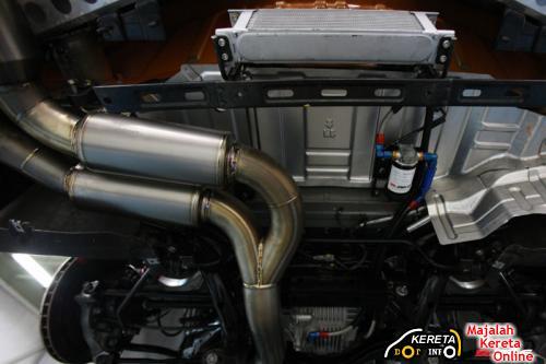 ZELE R35 GTR Muffler