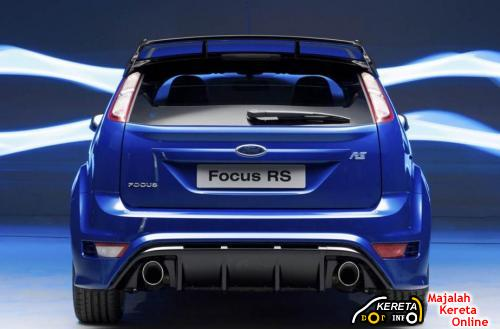 2010 Ford Focus rs – Rear View