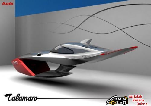 Audi Calamaro Concept flying car
