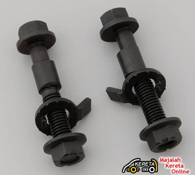 camber bolt nut alignment car wheel