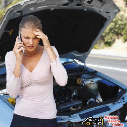 car breakdown..