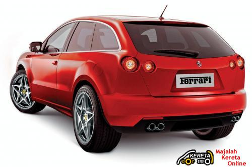 ferrari suv rear