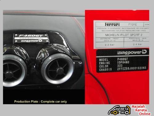 IDING Power FERRARI F460GT CONVERSION 1