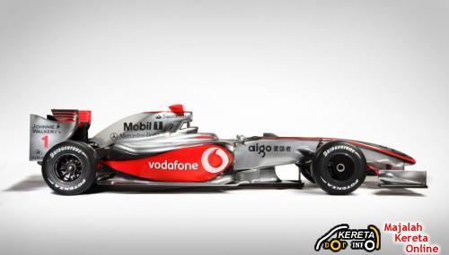 McLaren Mercedes MP4-24 4