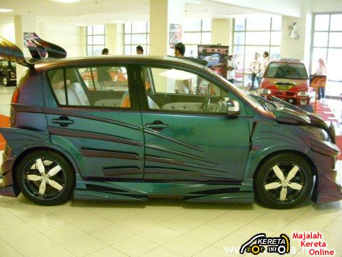 PERODUA MYVI EXTREME CUSTOM BODYKIT MODIFICATION PICTURES