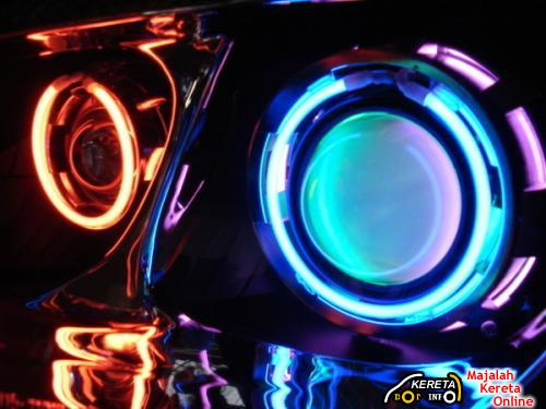 projector led angel eyes headlamp ccfl ring