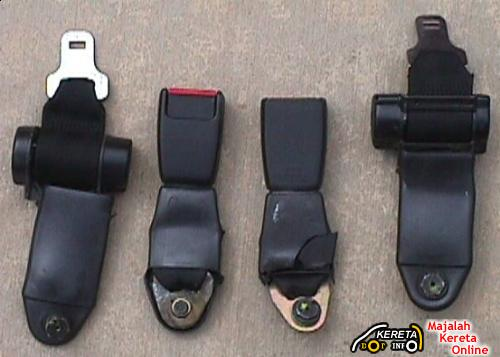 REAR SEAT BELTS NOT YET AVAILABLE IN TAWAU