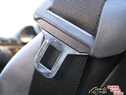 rear seat belt 54