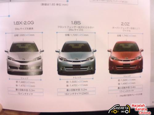 2009 TOYOTA WISH JDM BROCHURE LEAKED 1