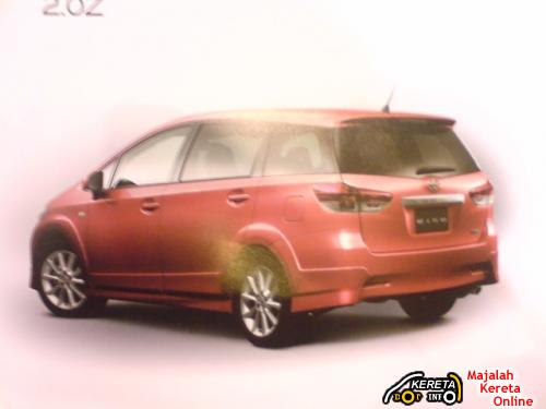 2009 TOYOTA WISH JDM BROCHURE LEAKED 3