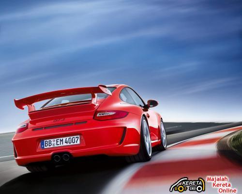 2010 porsche 911 GT3 REAR