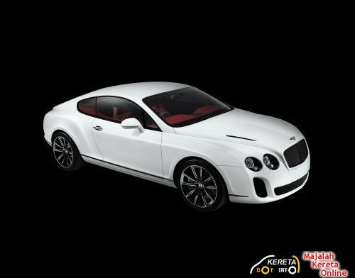 Bentley Continental Supersport Green front