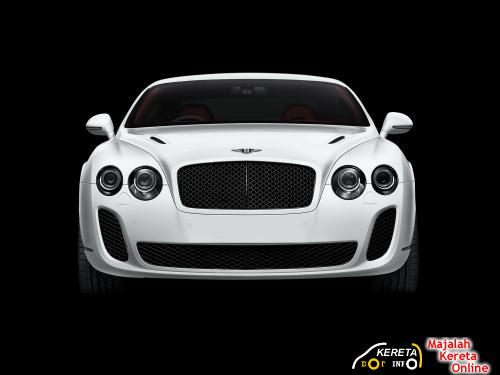 Bentley Continental Supersport Green fronto