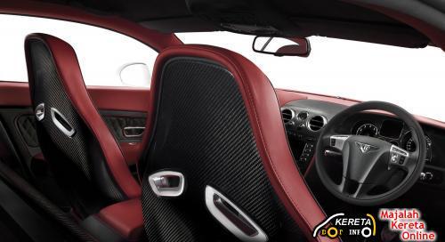 Bentley Continental Supersport Green interior