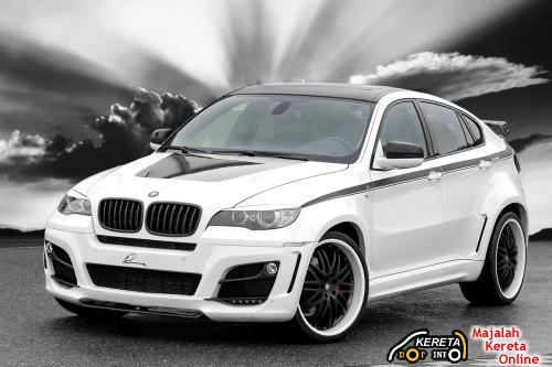FUTURISTIC SUV - BMW X6 IN LUMMA DESIGN BODYKIT