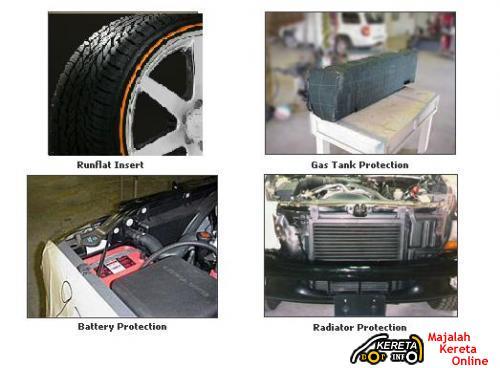 Bulletproof-armored vehicle 3