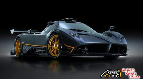 FRONT VIEW ZONDA R AA