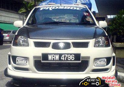 MODIFICATION IDEAS FOR PROTON NEW SAGA BLM - EXTREME MODIFIED BODYKIT