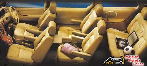 NAZA RIA SPECIFICATION - THE SPACIOUS 5 STAR PREMIUM LUXURY MPV - WITH NGV