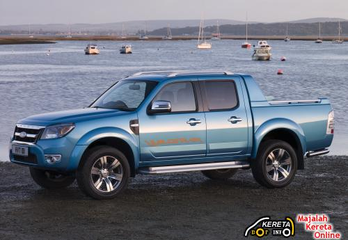 New Facelift Ford Ranger front