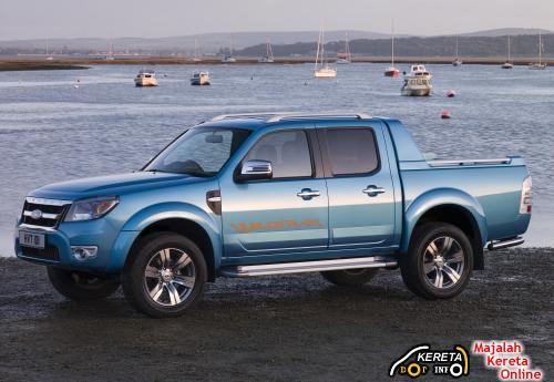 New Facelift Ford Ranger front