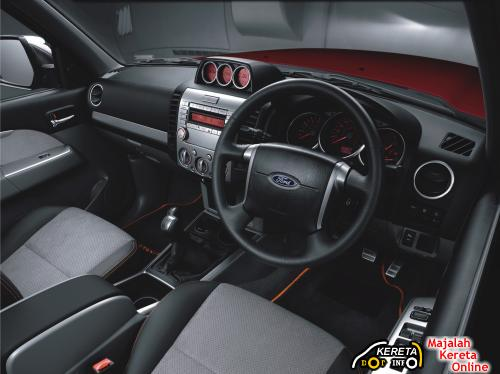 ew Facelift Ford Ranger interior
