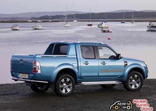 New Facelift Ford Ranger rear