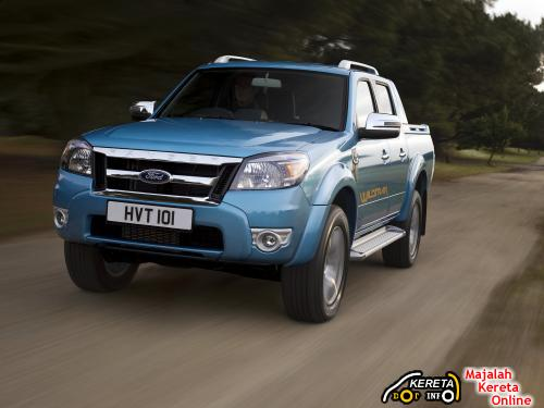 New Facelift Ford Ranger running