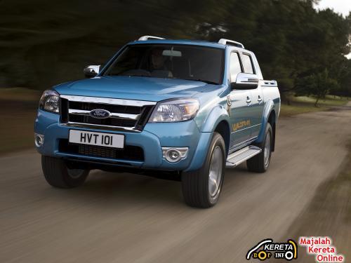 New Facelift Ford Ranger running