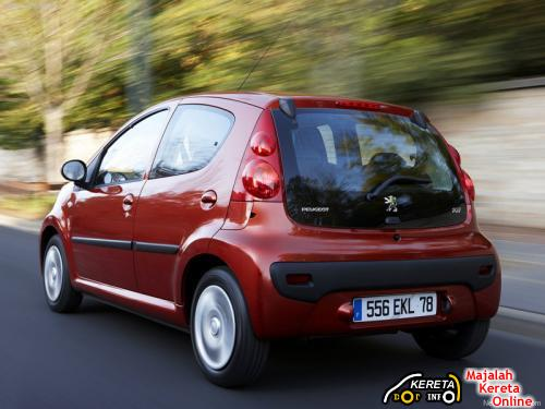 new peugeot 107 facelifted specification fuel efficient car