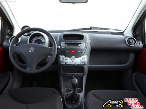 new peugeot 107 facelifted specification pictures fuel efficient car 22