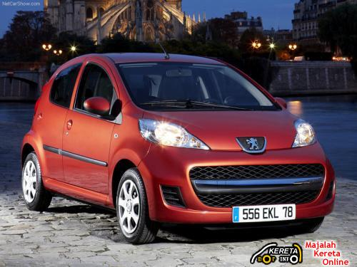 peugeot 107 2009 facelifted