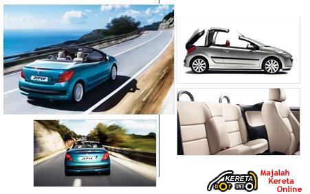 COUPE CABRIOLET PEUGEOT 207CC FULL SPECIFICATION + PRICE + PICTURES > STYLE & SPORTY CAR