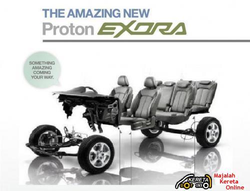 Proton Exora Interior Specification 2