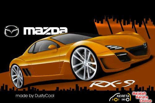PICTURE OF UPCOMING MAZDA RX-9 UNVEILED?