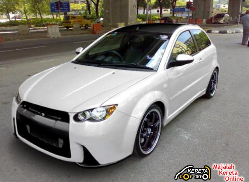 satria neo modified bodykit skyline