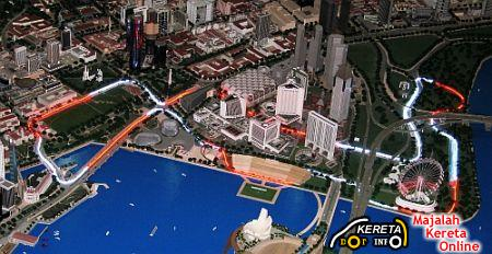 Singapore F1 circuit