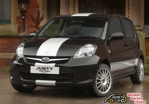 Subaru Justy Special edition
