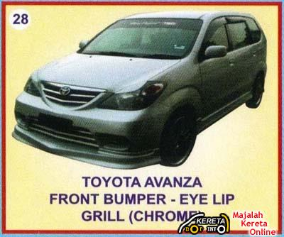 TOYOTA AVANZA DETAILS SPEC & MODIFIED PICTURE BODYKIT OF AVANZA