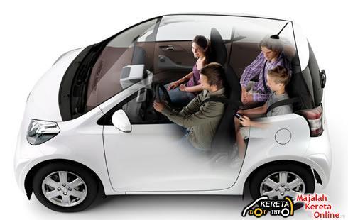 Toyota IQ cutout