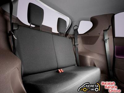 Toyota IQ Interior Rear