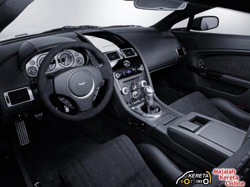 vantage v12 interior