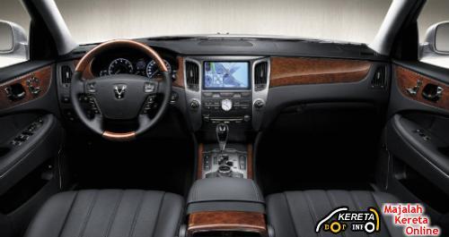 2010 Hyundai Equus dashboard