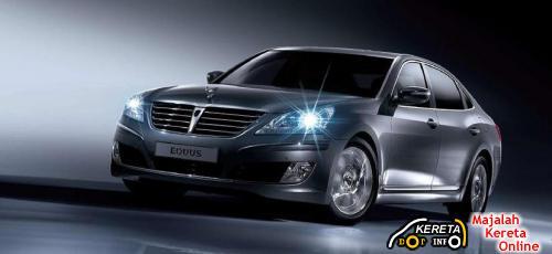 2010 Hyundai Equus light