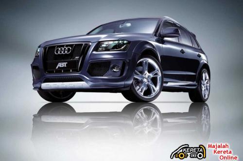 Audi Q5 ABT  Dark Blue Front