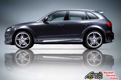Audi Q5 ABT  Dark Blue Side